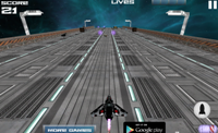 3D Space Racer