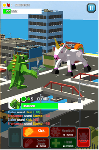 Smashy City 2 Monster Battle