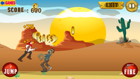 Zombie Shooting – Wild West